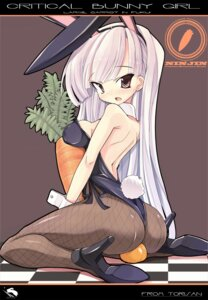 Rating: Questionable Score: 42 Tags: animal_ears bunny_ears bunny_girl fishnets heels pantyhose tail torisan User: blooregardo
