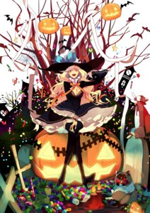 Rating: Safe Score: 29 Tags: cleavage dress halloween rozer thighhighs witch User: Radioactive