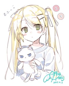Rating: Safe Score: 46 Tags: hisaka_hazara neko User: fairyren