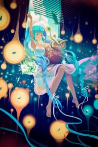 Rating: Safe Score: 44 Tags: dress hatsune_miku summer_dress vocaloid vofan User: fireattack
