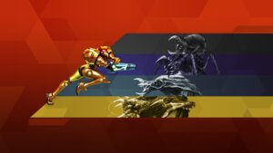 Rating: Questionable Score: 5 Tags: armor metroid monster nintendo samus_aran wallpaper User: fly24