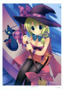 Rating: Safe Score: 28 Tags: cleavage kiba_satoshi neko pantyhose witch User: crim