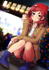 Rating: Safe Score: 72 Tags: love_live! nishikino_maki yana_mori User: Mr_GT