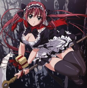 Rating: Safe Score: 69 Tags: airi cleavage maid pantsu queen's_blade takamura_kazuhiro thighhighs User: YamatoBomber