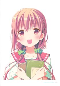 Rating: Safe Score: 31 Tags: hinako_note mitsuki_(mangaka) seifuku User: fireattack