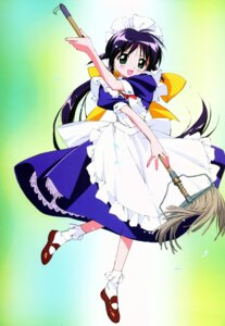 Rating: Safe Score: 9 Tags: andou_mahoro mahoromatic maid takamura_kazuhiro User: Radioactive