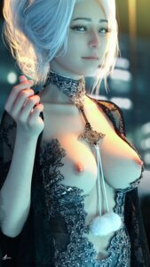Rating: Questionable Score: 49 Tags: breasts cg nipples no_bra User: Ashtum