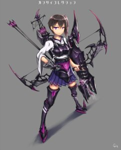 Rating: Safe Score: 31 Tags: armor gia kaga_(kancolle) kantai_collection weapon User: Radioactive