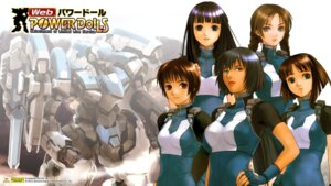 Rating: Safe Score: 9 Tags: bodysuit mecha power_dolls tagme wallpaper User: wabo
