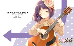 Rating: Safe Score: 30 Tags: cuteg guitar hinabita kasuga_sakiko tagme User: lee1238234