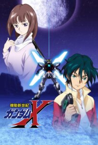 Rating: Safe Score: 12 Tags: garrod_ran gun gundam gundam_x mecha tiffa_adill User: saemonnokami
