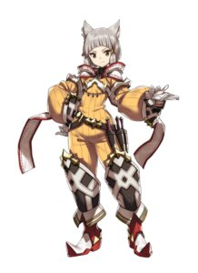 Rating: Questionable Score: 13 Tags: animal_ears armor jpeg_artifacts nekomimi nintendo niyah saitom weapon xenoblade xenoblade_chronicles_2 User: fly24