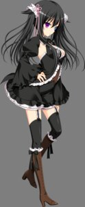 Rating: Safe Score: 90 Tags: 3rd_eye gensou_no_idea gothic_lolita heterochromia lolita_fashion makita_maki re:non shinomori_rinon stockings thighhighs transparent_png User: hxsxdx