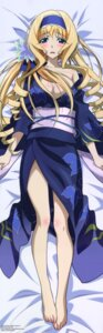 Rating: Questionable Score: 77 Tags: cecilia_alcott cleavage dakimakura infinite_stratos no_bra open_shirt yukata User: DDD