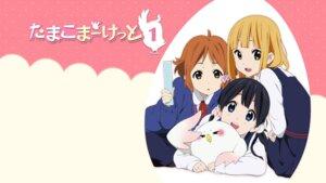 Rating: Safe Score: 21 Tags: kitashirakawa_tamako makino_kanna seifuku tamako_market tokiwa_midori wallpaper User: SHM222