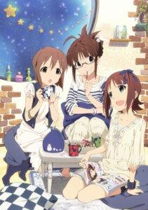 Rating: Safe Score: 29 Tags: akizuki_ritsuko amami_haruka hagiwara_yukiho megane the_idolm@ster User: animeprincess