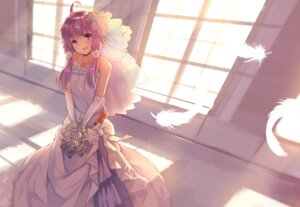 Rating: Safe Score: 42 Tags: dress hopepe vocaloid wedding_dress yuzuki_yukari User: charunetra