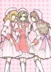 Rating: Safe Score: 10 Tags: kouno_tooru male princess_princess shihoudani_yuujirou trap tsuda_mikiyo yutaka_mikoto User: Radioactive