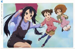 Rating: Safe Score: 21 Tags: hirasawa_ui k-on! nakano_azusa suzuki_jun thighhighs ueno_chiyoko User: Spidey