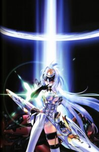 Rating: Safe Score: 19 Tags: choco jpeg_artifacts kos-mos xenosaga xenosaga_i User: Manabi