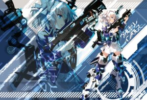 Rating: Questionable Score: 30 Tags: gun hayakawa_harui valkyrie_impulse User: hiroimo2
