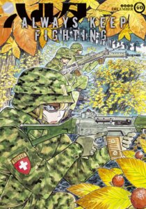 Rating: Safe Score: 4 Tags: gun kuji_mitsuhisa megane uniform weapon User: NotRadioactiveHonest
