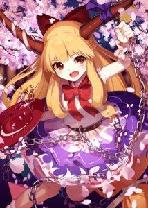 Rating: Safe Score: 19 Tags: horns ibuki_suika skirt_lift touhou yokujitsu User: Mr_GT