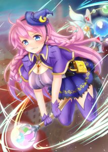 Rating: Questionable Score: 25 Tags: cleavage dress million_arthur_irakon_ken million_arthur_irakon_ma tagme thighhighs witch User: KazukiNanako