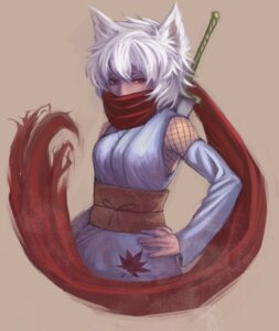 Rating: Safe Score: 7 Tags: animal_ears mibuki397 nekomimi ninja User: Radioactive