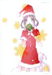 Rating: Safe Score: 14 Tags: amano_tooko bungaku_shoujo christmas takeoka_miho User: petopeto