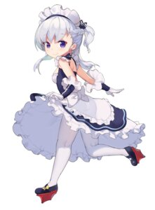 Rating: Safe Score: 50 Tags: azur_lane bel-chan_(azur_lane) belfast_(azur_lane) jehyun maid pantyhose skirt_lift User: nphuongsun93