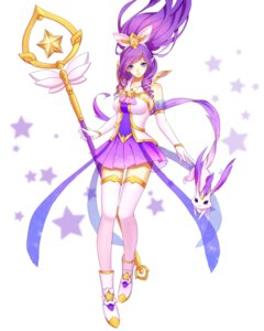 Rating: Safe Score: 18 Tags: heels janna_windforce kezi league_of_legends pointy_ears thighhighs weapon zephyr User: charunetra
