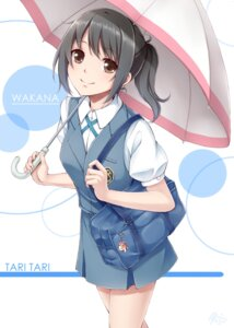 Rating: Safe Score: 37 Tags: dabadhi sakai_wakana seifuku tari_tari umbrella User: 椎名深夏