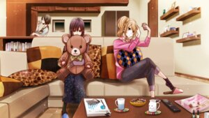 Rating: Safe Score: 30 Tags: aihara_mei aihara_ume aihara_yuzu_(citrus) citrus_(manga) saburouta sweater wallpaper User: kiyoe