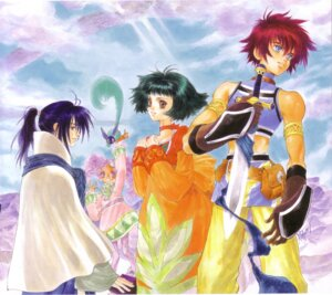Rating: Safe Score: 3 Tags: farah_oersted inomata_mutsumi keel_zeibel meredy quickie rid_hershel tales_of tales_of_eternia User: Radioactive