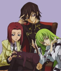 Rating: Safe Score: 15 Tags: arthur_(code_geass) c.c. code_geass kallen_stadtfeld lelouch_lamperouge sakou_yukie seifuku User: Aurelia
