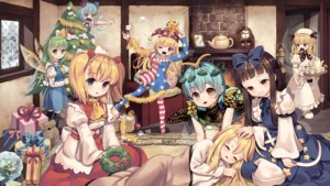 Rating: Safe Score: 25 Tags: christmas cirno clownpiece daiyousei dress eternity_larva lily_white luna_child pantyhose star_sapphire sunny_milk tagme touhou wallpaper wings User: Mr_GT