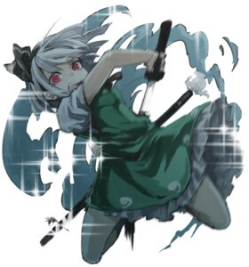 Rating: Safe Score: 23 Tags: konpaku_youmu mephist-pheles sword touhou User: charunetra