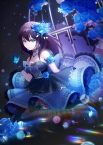 Rating: Safe Score: 49 Tags: dress hatchi heels sagisawa_fumika the_idolm@ster the_idolm@ster_cinderella_girls thighhighs User: Mr_GT