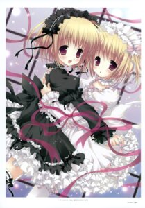 Rating: Safe Score: 37 Tags: dress garter lolita_fashion morinaga_korune thighhighs User: crim