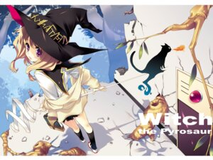 Rating: Safe Score: 45 Tags: tatami_to_hinoki wallpaper wasabi witch User: fireattack