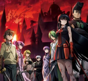 Rating: Safe Score: 36 Tags: akame akame_ga_kill! blood bulat chinadress cleavage dress eyepatch leone lubbock megane mein minato_soft najenda sheele smoking sword tatsumi thighhighs weapon User: moonian