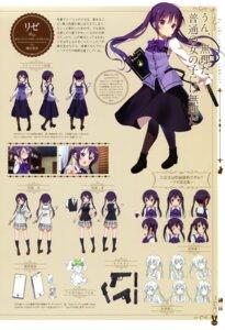Rating: Safe Score: 26 Tags: character_design gochuumon_wa_usagi_desu_ka? gun koi seifuku tedeza_rize waitress User: Twinsenzw
