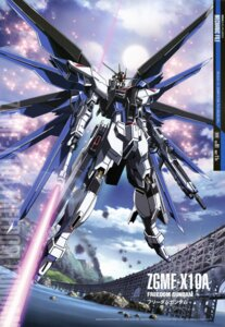 Rating: Safe Score: 27 Tags: freedom_gundam gun gundam gundam_seed gundam_seed_destiny mecha shigeta_satoshi sword User: Radioactive