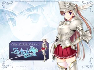 Rating: Safe Score: 34 Tags: armor komori_kei noel_marres_ascot ricotta walkure_romanze wallpaper User: zgyxzzl