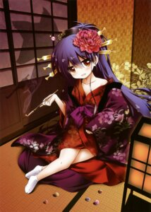 Rating: Safe Score: 20 Tags: smoking tagme yukata User: Twinsenzw