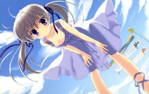 Rating: Safe Score: 43 Tags: calendar_girl cleavage dress nanao_naru no_bra summer_dress umi_yukino User: WtfCakes