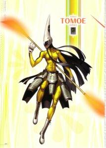 Rating: Safe Score: 3 Tags: armor bodysuit megaten persona persona_4 soejima_shigenori tomoe_(persona_4) User: admin2
