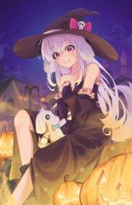 Rating: Safe Score: 14 Tags: dress halloween hwashin skirt_lift witch User: Munchau