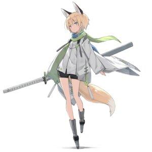 Rating: Safe Score: 13 Tags: animal_ears poco sword tail User: Dreista